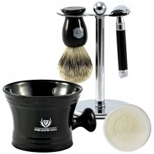 5-piece Wet Shaving Set with Edwin Jagger Classic Razor