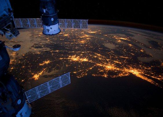 Stunning image of Earth at night!