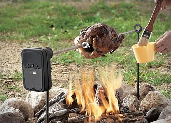 MOTORIZED GRIZZLY SPIT ROTISSERIE