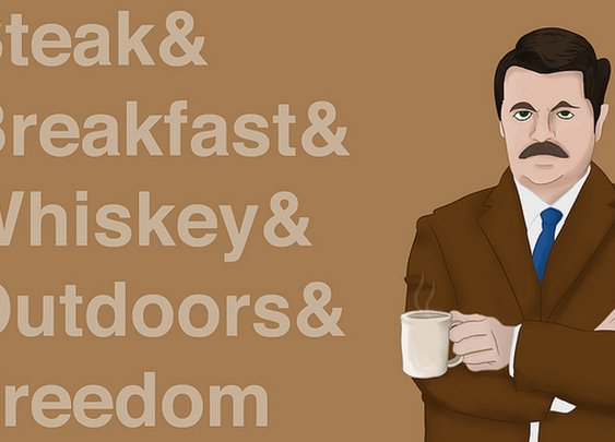 Ron Effing Swanson | Flickr - Photo Sharing!