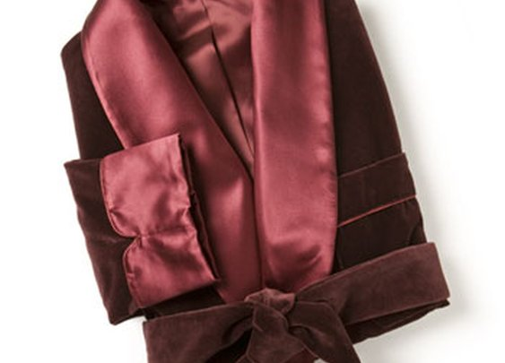 Paul Stuart - Velvet Smoking Jacket