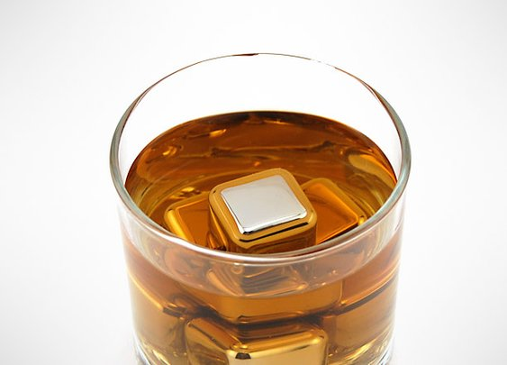 Stainless Steel Ice Cubes   GearCulture