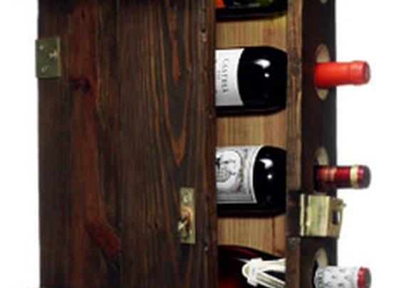 Ammunitions Case Wine Rack | GearCulture