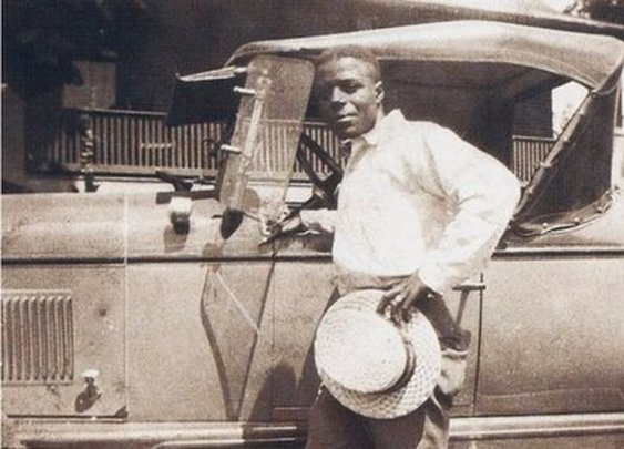 Bluesman Skip James