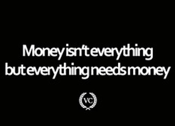 Money Isn't Everything