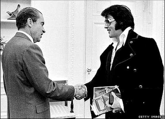 Elvis Presley & Richard Nixon