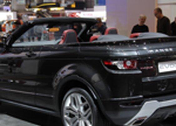 Range Rover Evoque convertible concept Photos | Range Rover Evoque convertible concept Pictures - Yahoo! Autos
