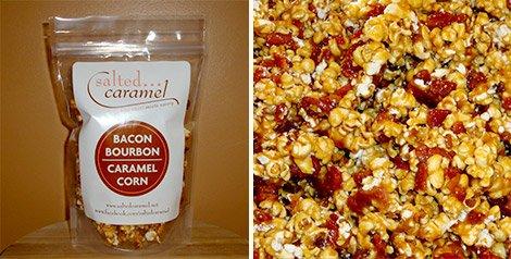Salted Caramel Bacon Bourbon Caramel Corn | GearCulture