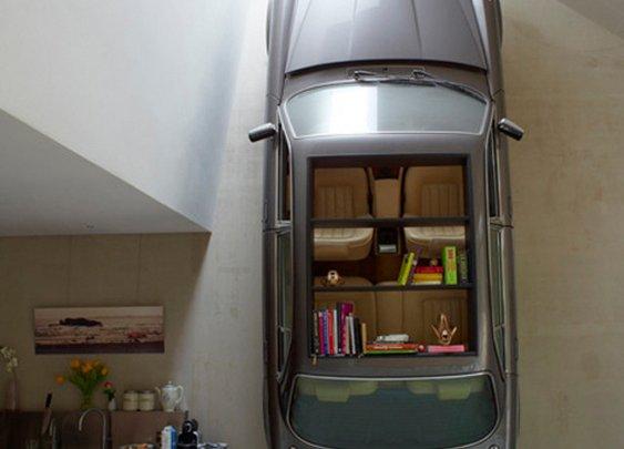 Jaguar Book Shelf