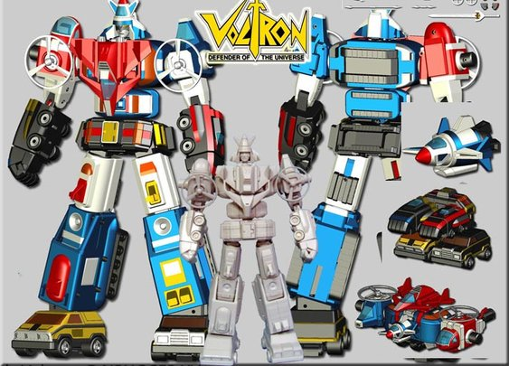 Miracle Productions Vehicle Voltron