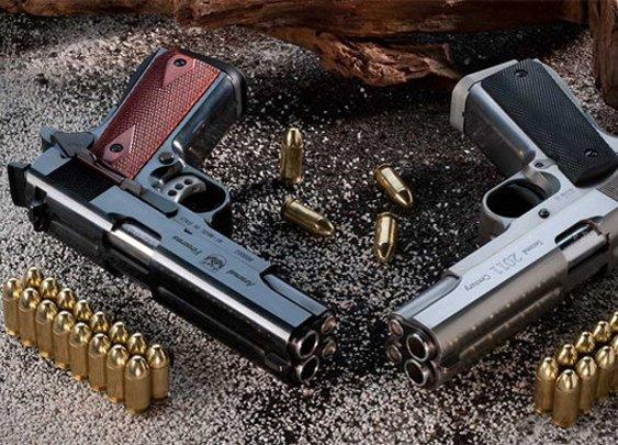 PEW PEW: Company Selling Double-Barrel Pistols | Geekologie