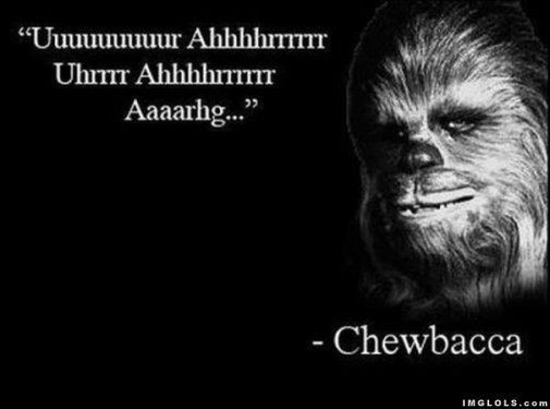 Well said, Chewy.