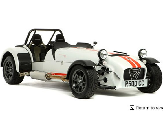 Caterham Cars - Designed for racing, built for living