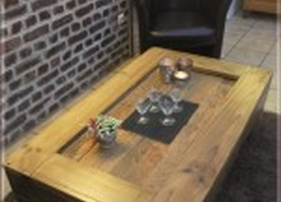 Pallets coffee-table | Recyclart