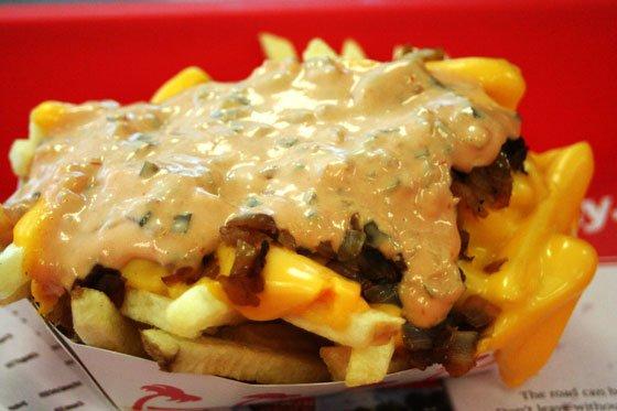 Animal Style Fries