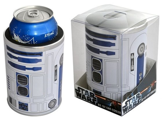 R2-D2 can coozie