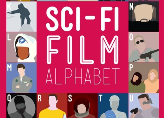 Sci-Fi And Horror Film Alphabet Posters