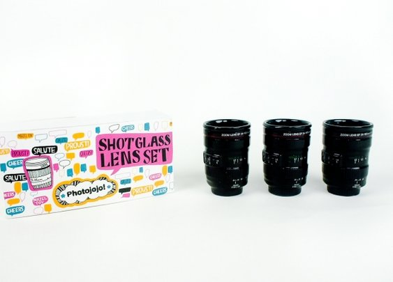 The Shot Glass Lens Set