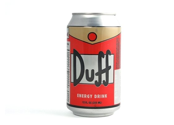 The Simpsons Duff Energy Drink
