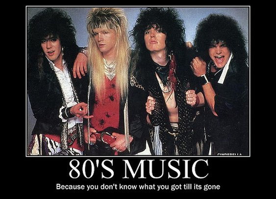 80's music poster!