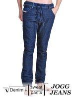 Denim + Sweat Pants = Diesel Jogg Jeans