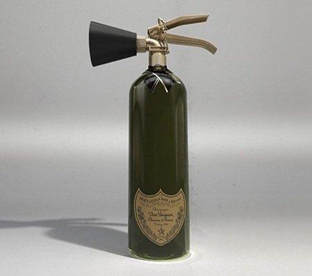 Moët & Chandon Dom Pérignon Champagne Fire Extinguisher