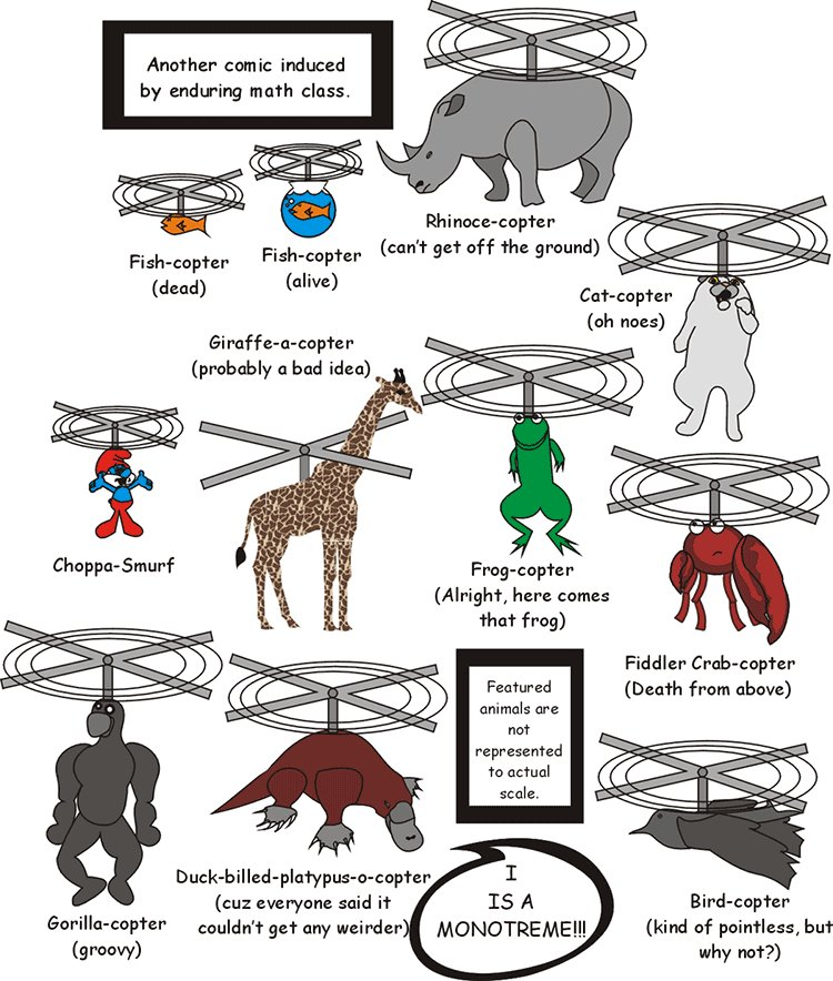 Animal Copters