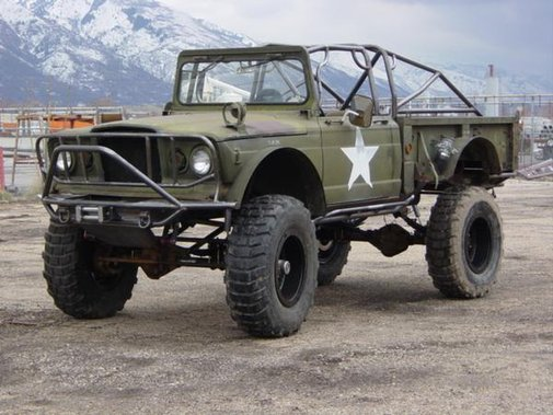 M715 Military Jeep