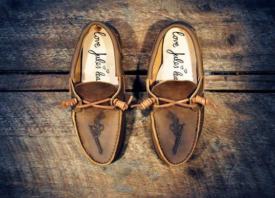 Annie Oakley Westsiders  Custom Handcrafted Oiled by lovejules