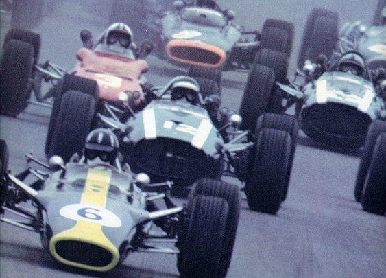 Genuine race cars