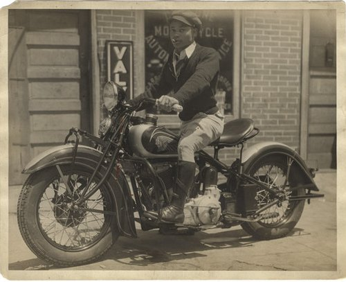 African American Man Riding Motorcycle | Flickr - Photo Sharing!