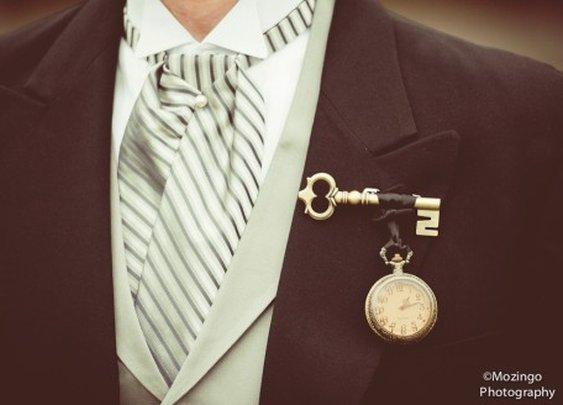 Pocket Watch Lapel Adornment