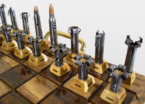 Bullet Chess Set   GearCulture