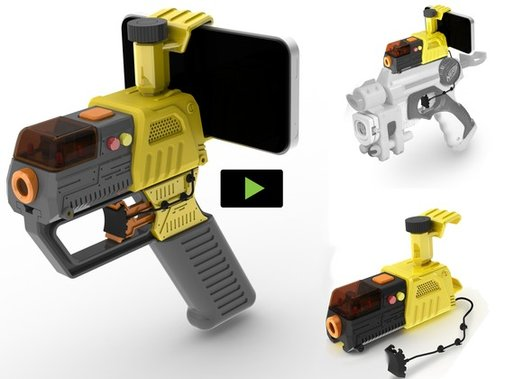 Laser AppTag for iPhone, iPod, Android. Real Shooter Gaming! by Jon Atherton — Kickstarter