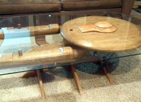 MAKE     Star Trek Enterprise NCC 1701-C Coffee Table