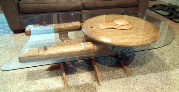 MAKE |   Star Trek Enterprise NCC 1701-C Coffee Table