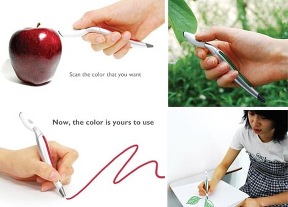 Color-Changing Pen Design