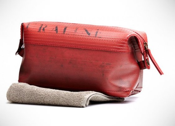 Fire Hose Toiletry Bag
