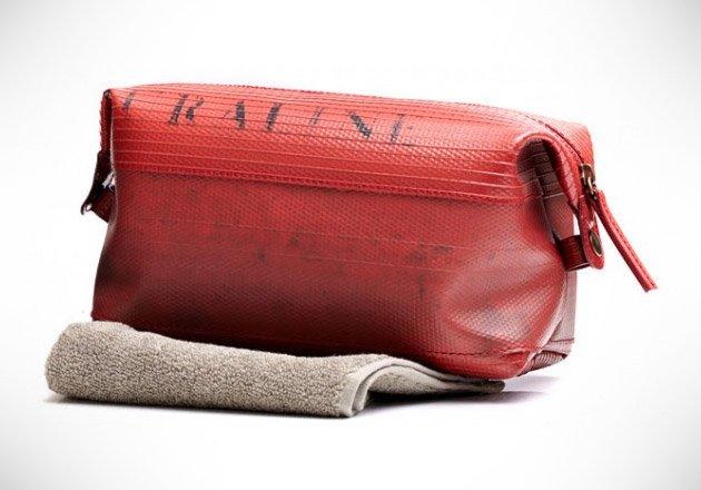 Fire Hose Toiletry Bag