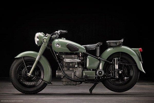 Vintage Sunbeam Motorcycle