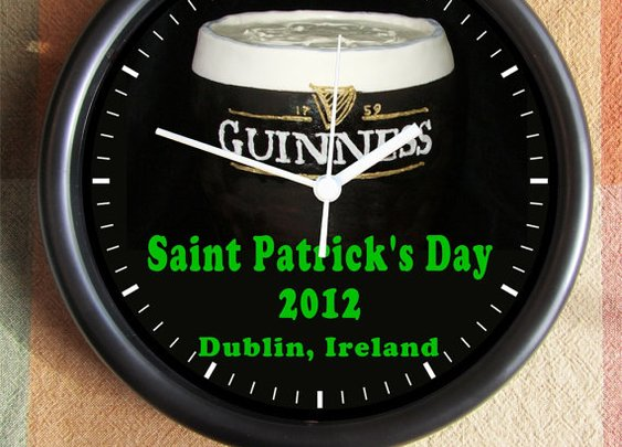 SAINT PATRICK'S DAY Guinness Beer 2012