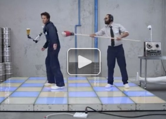The First Spill-Proof Beer (Video) : theCHIVE