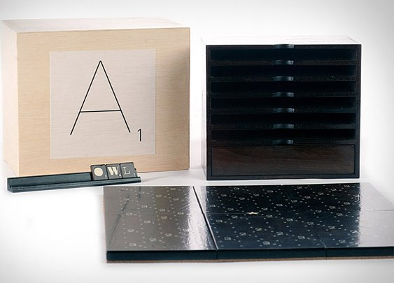 Scrabble Typography Edition | Uncrate
