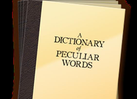 A Dictionary of Peculiar Words - a Cauldron Studios game