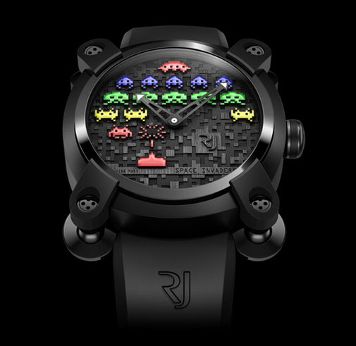 Romain Jerome - Space Invaders timepiece (Moon Invaders collection)