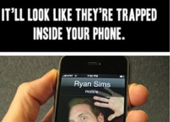 9GAG - Trapped in the phne