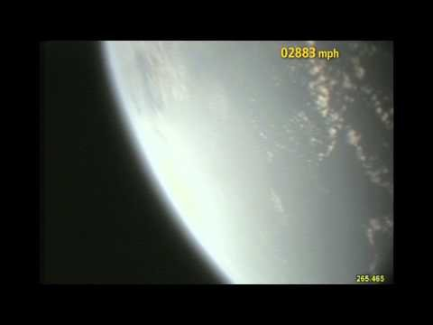 Space Shuttle Liftoff - Booster Camera