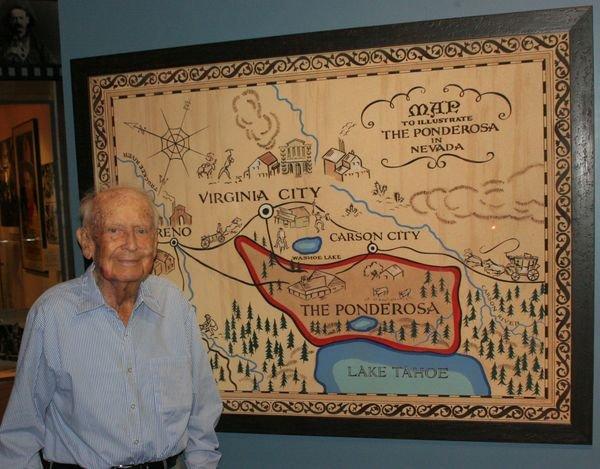 Artist who created TV 'Bonanza' map dies at 98 - latimes.com