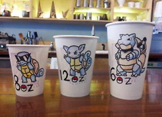 Gamefreaks • I drew these for my girlfriend's coffee shop. :]...