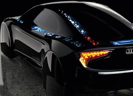 Audi Visions OLED Technology